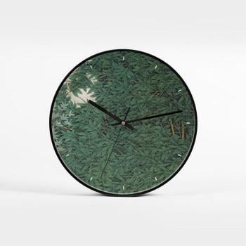 Living Room Art Nordic Wall Clock Luxury Metal Chinese Bedroom Quartz Wall Clock Silent Reloj Pared Creative Home Decor AB50ZB
