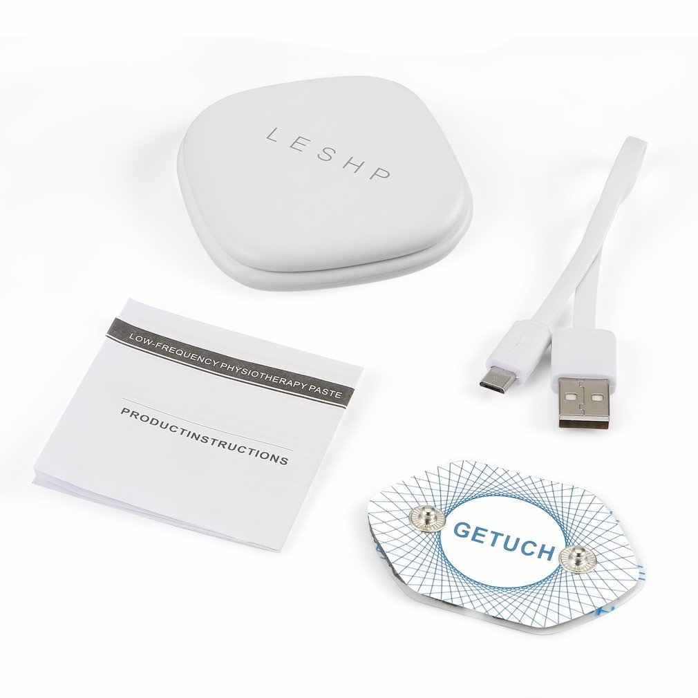 محمول مُدلك صغير منخفض التردد العلاج الكهربائي أداة تدليك لتخفيف الآلام التحكم الذكي