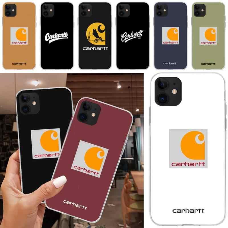 designer brand letter carhartt case coque fundas for iphone 11 PRO ...