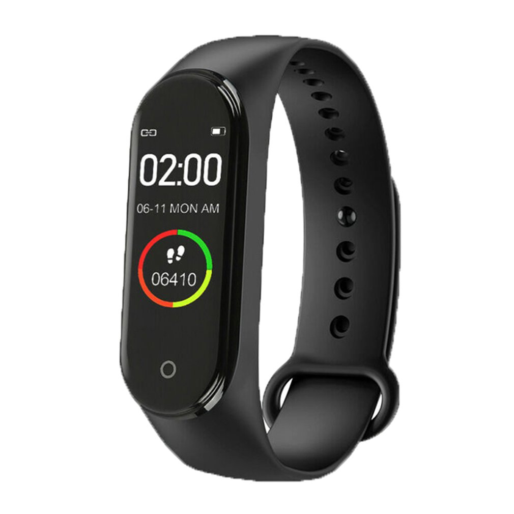 M4 Smart Bracelet 0.96Inch Color Screen Smart Watch Sports Band Health Sleep Tracker Motion Heart Rate Bluetooth Smart Bracelet