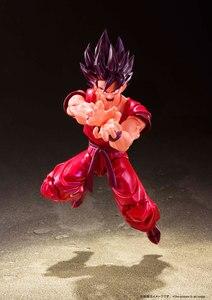 """Image 4 - """"Dragon Ball Z"""" 100% Original BANDAI Tamashii Nations S.H. Figuarts / SHF Action Figure   Son Gokou Kaio ken"""