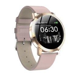696 Mulheres Dos Homens do Relógio da Frequência Cardíaca CF18 Inteligente Monitor de Pressão Arterial IP67 Multi Esporte Smartwatch À Prova D' Água Rastreador De Fitness