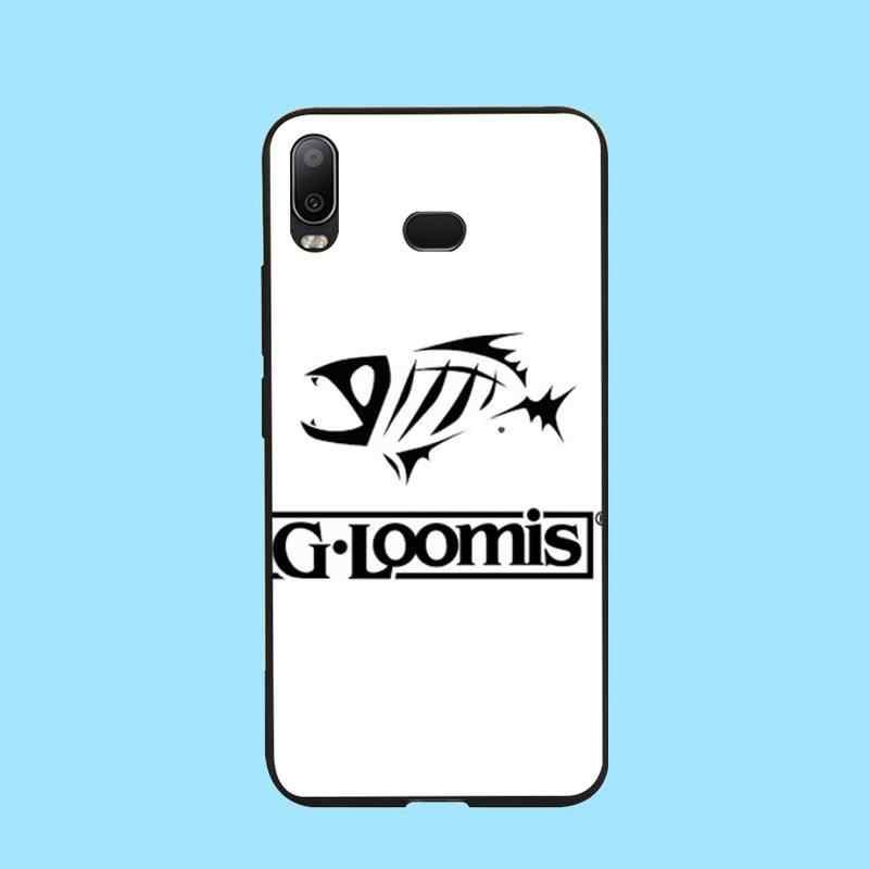 PENGHUWAN G loomis balıkçılık siyah yumuşak kabuk telefon kılıfı çapa Samsung A10 A20 A30 A40 A50 A70 A71 a51 A6 A8 2018