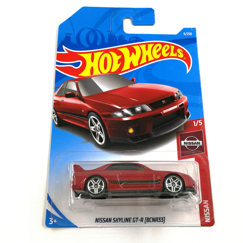 Hot Wheels 1:64 Car NISSAN SKYLINE GTR (NISSAN 180SX TYPE X) (NISSAN FAIRLADY Z) Collector Edition Metal Diecast Model Cars
