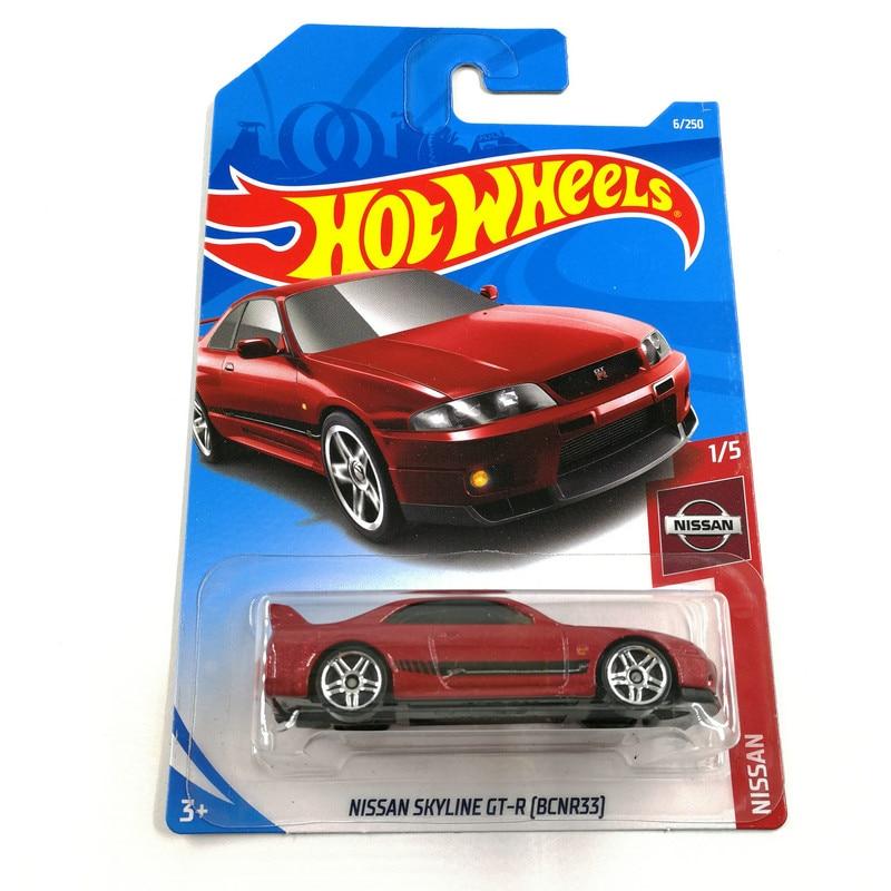 Hot Wheels 1:64 Car NISSAN SKYLINE GTR (NISSAN 180SX TYPE X) (NISSAN FAIRLADY Z) Collector Edition Metal Diecast Model Cars