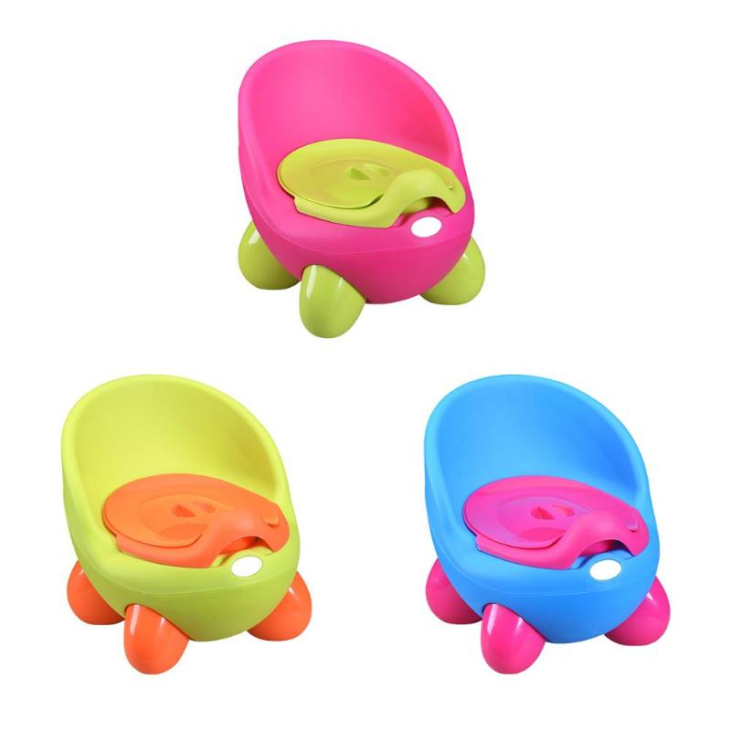 Children Potty Toilet Seat Ring Delicate Design Portable Practical Durable With Armrests Baby Infant Urinal Training Tools