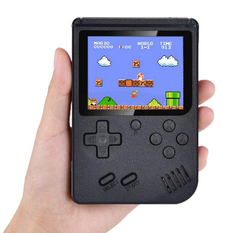 Retro Handheld Video Game Console Built-in 500 Games Portable Pocket game Console Mini Handheld Player Gamepad Toy Gift for Kids