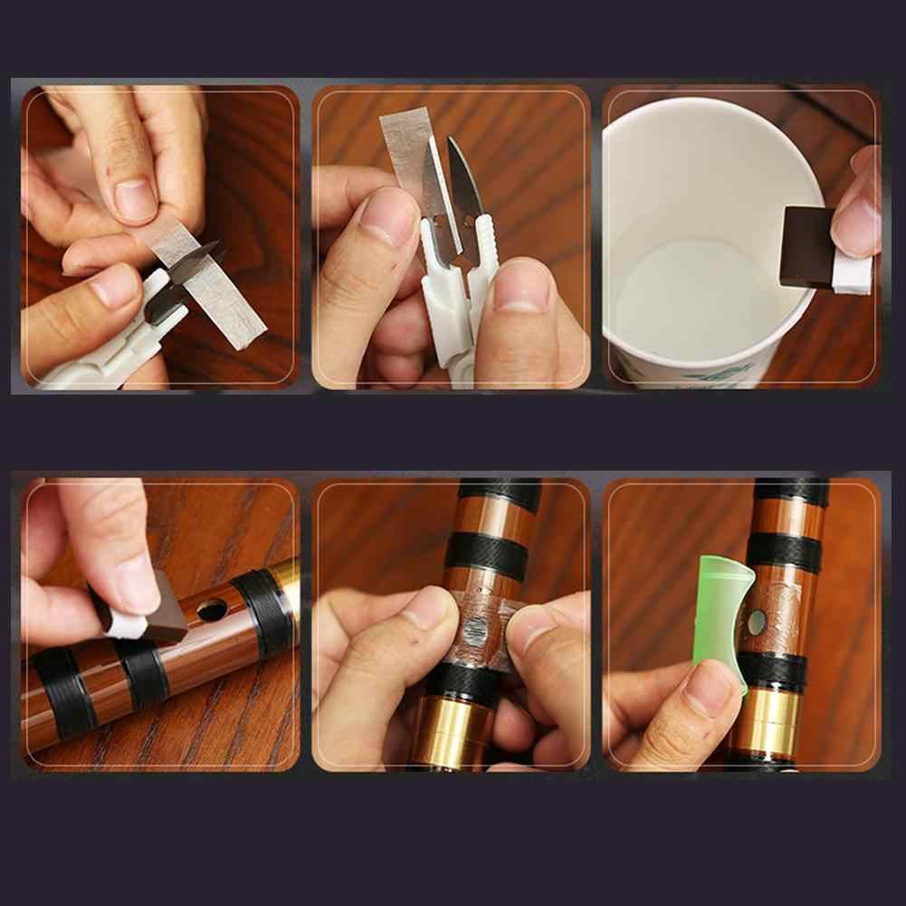 Diafragma Flauta sólida Cola de Gelatina Feita de Puro Uso Dimo para Peças de Metal Flauta Dizi Chinês de Bambu Tradicional