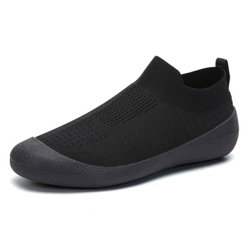 Men Shoes Sneakers Breathable Mesh Men Casual Shoes Plus Size Lightweight Sneakers Sock Shoes Slip