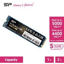 Silicone potência us70 m2 nvme ssd 1tb 2tb m.2 2280 pcie 4.0 nvme 3d nand unidades de estado sólido interno disco rígido para computador portátil/desktop