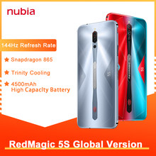 Global Versie Nubia Red Magic 5S Gaming Smartphone 8Gb 128Gb Redmagic 5S 5G Game Mobiele telefoon Snapdragon 865 Nfc Cellphone 2020