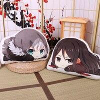 Japan Anime Lord El Melloi II Case Files Gray Cosplay Doll Plush Stuffed Cushion Throw Pillow Toy Cute Xmas Gift Size 48 X 39cm