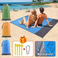 Camping Matte Wasserdicht Strand Decke Outdoor Erdung Matte Matratze Picknick Tasche Teppich Teppich Portable Faltung Schlaf Bett Pad