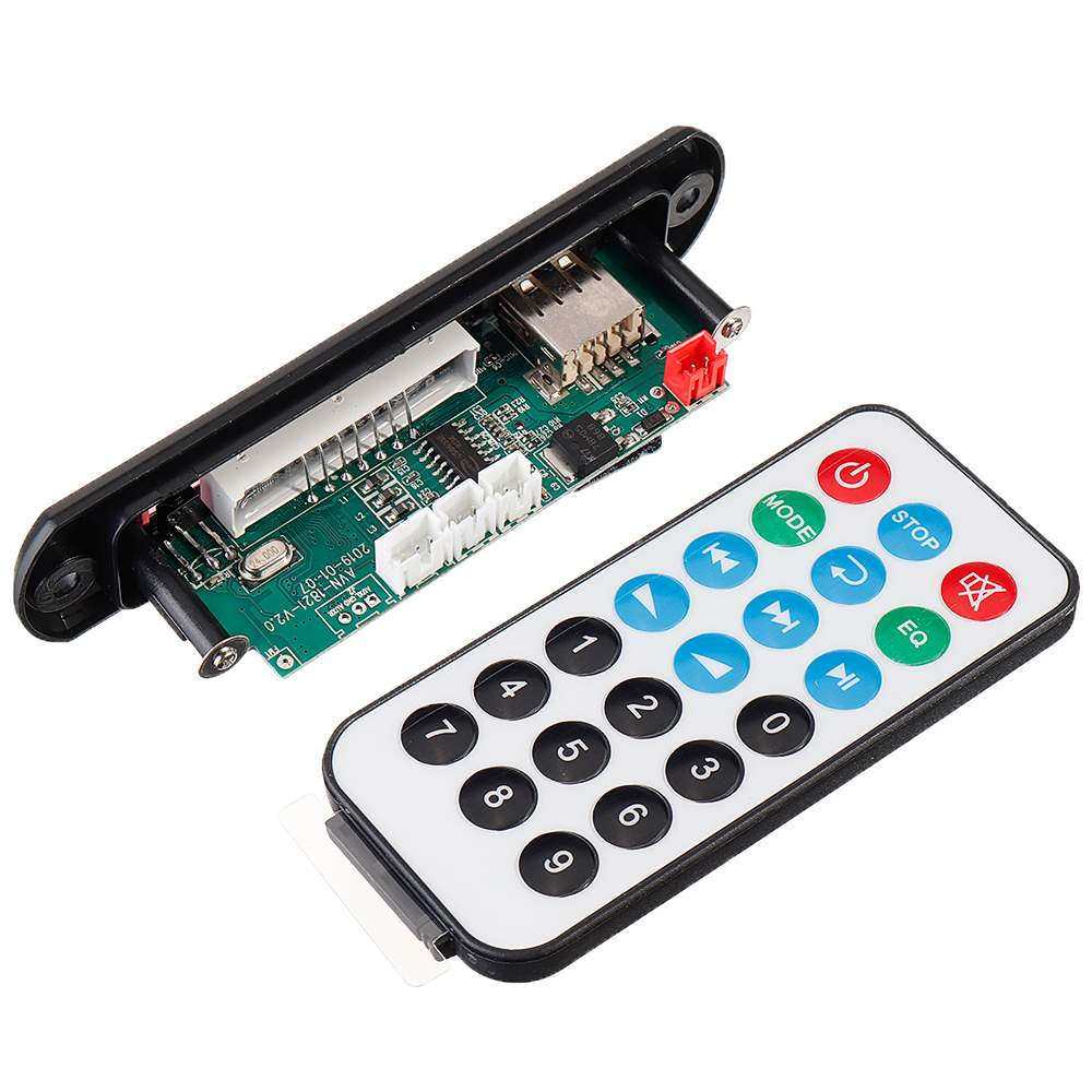 LEORY 15Wx2 Bluetooth 5.0 Power Amplifier Board Lossless MP3 Audio Decoder Board Accessories For Pull Rod Audio Amplifier