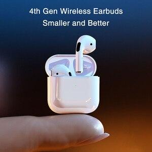 4th Gen Mini Bluetooth Earphone Pro 4 TWS Wireless Earphone Sport Gaming Bluetooth Headphones Earbuds for iPhone 12 Pro Max mini