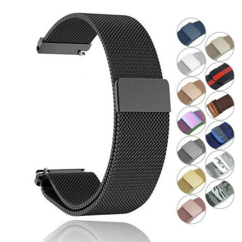 22 20mm For Samsung Gear Sport S2 S3 Classic Band Huami Amazfit Gtr Bip Strap Huawei GT 2 42 46mm Galaxy Watch Active 40mm 44mm