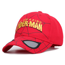 2019 letter embroidery children cartoon Spider Man Wai baseball cap male and female baby spring summer Visor