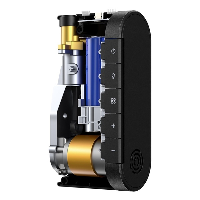 Baseus voiture compresseur dair 4000mAh batterie pneu gonfleur portable électrique voiture pompe à Air numérique Auto pneu pompe pour moto