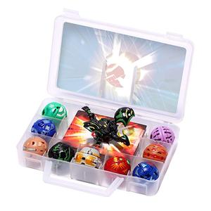 12 different styles Flame Unicorn BAKUGANES Transformations Beyblade Fusion with Monster Ball Gyro Athletics Collection Box Toys