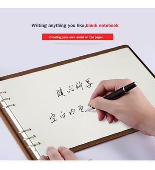 цена Custom A4 Business Blank Notepad Writing Notebook Stationery Travel Diary Journal Agenda Planner for Promotion Birthday Gift онлайн в 2017 году