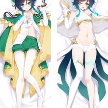 Pillow-Cover Dakimakura Genshin Impact Otaku Anime Hugging-Body Sexy Hot VENTI Game Girl