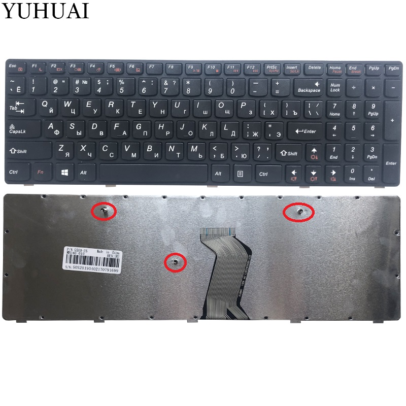 NEW Russian Laptop Keyboard FOR LENOVO G500 G510 G505 G700 G710 G500A G700A G710A G505A RU Keyboard (NOT FIT G500S)