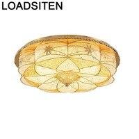 Lustre Luminaria Armatuur Lamp Sufitowe Vintage Plafon Woonkamer Lampara De Techo Plafondlamp Crystal Led Plafondlamp-in Plafondverlichting van Licht & verlichting op