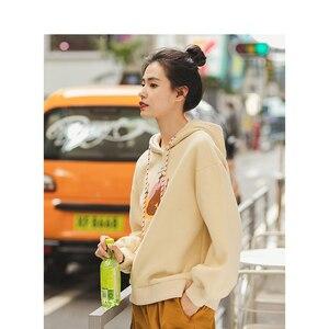 Image 3 - INMAN Autumn Winter Hoodies Women Pullover Cotton Printed Sweatshirts and Hoodies