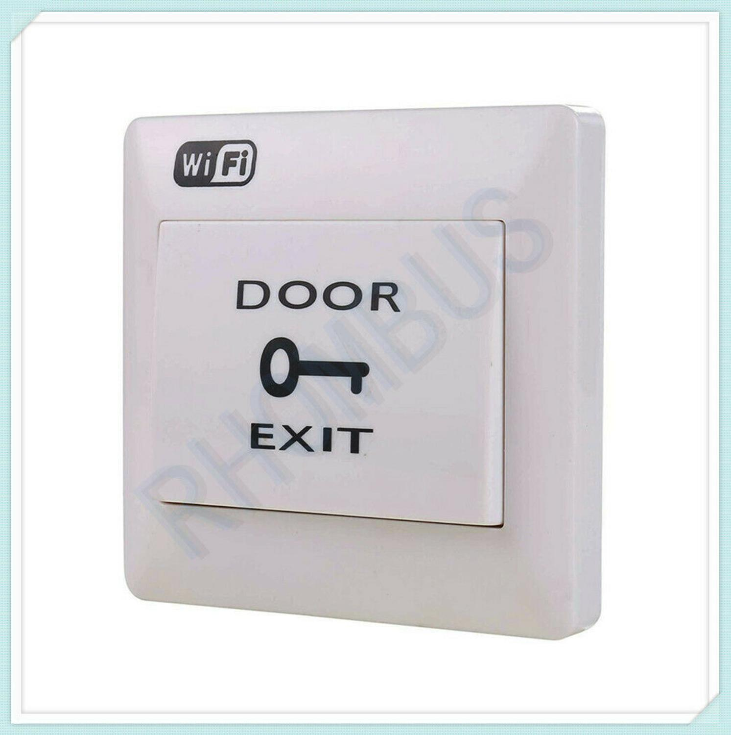 Access Control WiFi Module Exit Button Door Release Switch With Mobile App
