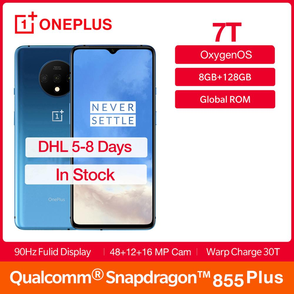 Rom global oneplus 7 t 8 gb ram 128 gb rom fulid amoled 6.55