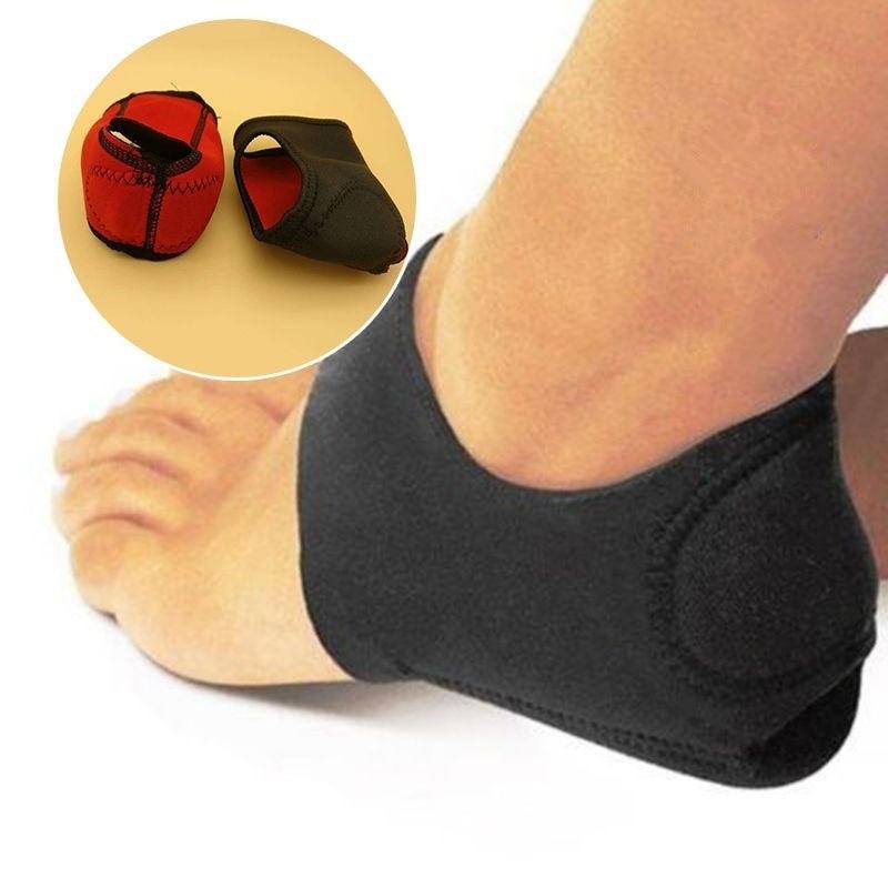 Новая подушка для ухода за пяткой и лодыжкой, высокое качество, противоскользящие подошвенные носки, защита для ухода за ногами, 1 пара