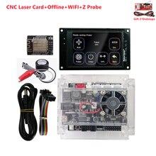 Grbl kit de gravação a laser cnc 3018 pro controladores offline mks tft 35 display 3 eixos usb driver placa controle cnc peças da máquina