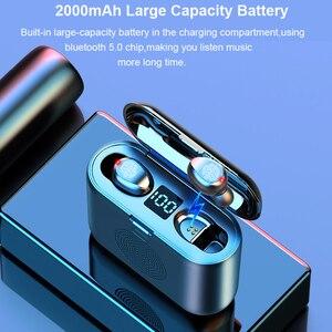 Image 4 - New True Wireless Bluetooth Earphone & Speaker 2 in 1 HD Stereo Wireless Headphones Mini Earbuds Bass Headset with 2000mAh Bin