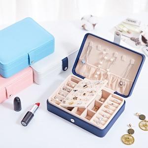 Image 5 - プロモーション古典革の宝石ギフトボックスプリントファッションピクチャーシンプルデザイン女性のとラブリーガールの宝石棺