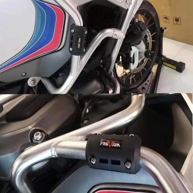 защитный бампер для двигателя мотоцикла декоративный блок защиты фотография