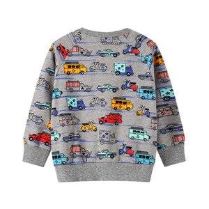 Image 4 - Baby Jongens Kleding Sets Herfst Winter Cartoon Auto Gedrukt Katoen Jongens Outfit Lange Mouw Broek Kids Kleding Suits