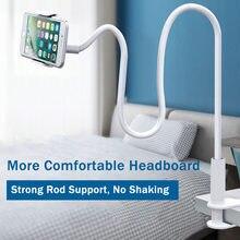 Preguiçoso suporte do telefone universal tablet suporte flexível 360 braçadeira ajustável casa cama desktop montar celular smartphone suporte de mesa