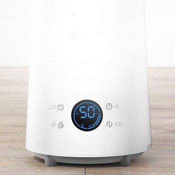 XIAOMI Deerma 25 Ã�ット/4L Â�マート空気加湿器タッチスクリーン立ち加湿器 12H Â�イミング調整可能な湿度とリモート制御