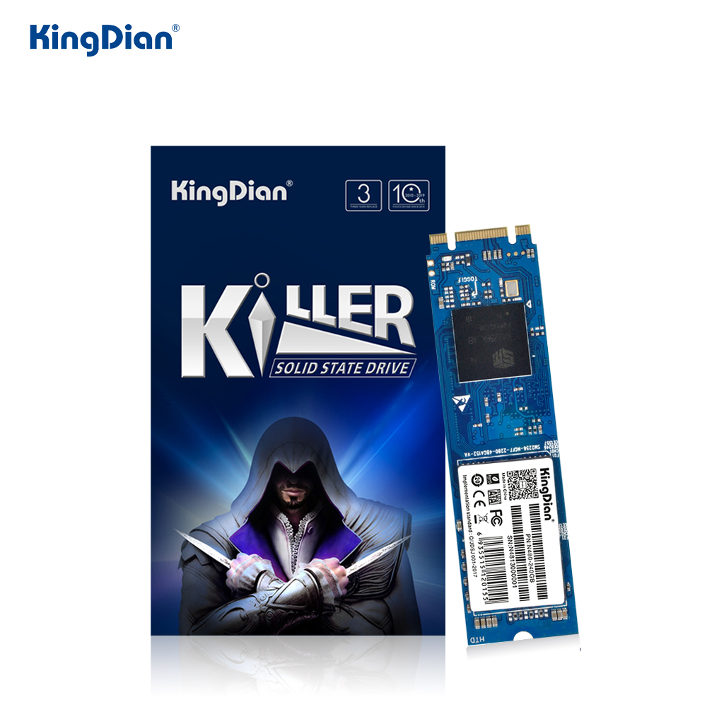 KingDian M.2 SSD m2 120gb 240 gb SSD 1TB 512GB 256GB 128GB M.2 2280 SATA ssd Internal Solid State Drive Hard Disk