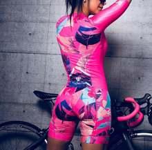 Cycling Triathlon Speedsuit Women Clothes 2020 Skinsuits Body Wear Roupa De Ciclismo Feminino Trisuit Jumpsuit Triatlon Swimwear