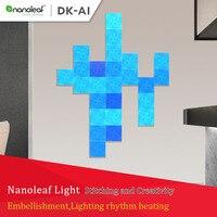 2019 original nanoleaf tela de cor cheia kit inteligente luz placa edição ritmo para xiaomi mijia apple homekit google casa