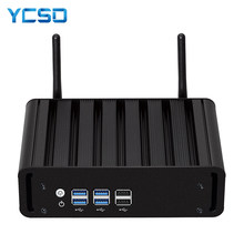 Mini Pc Intel Core i7 i5 5200U i3 2955U Windows 10 7 Linux VGA 8xUSB Micro Fanless Computer Minipc Htpc Thin Client Nuc Ps