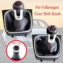 Кожаный чехол для Volkswagen Golf 6 MK6 GTI GTD R20 2009-2013, 5 скоростей, 6 скоростей