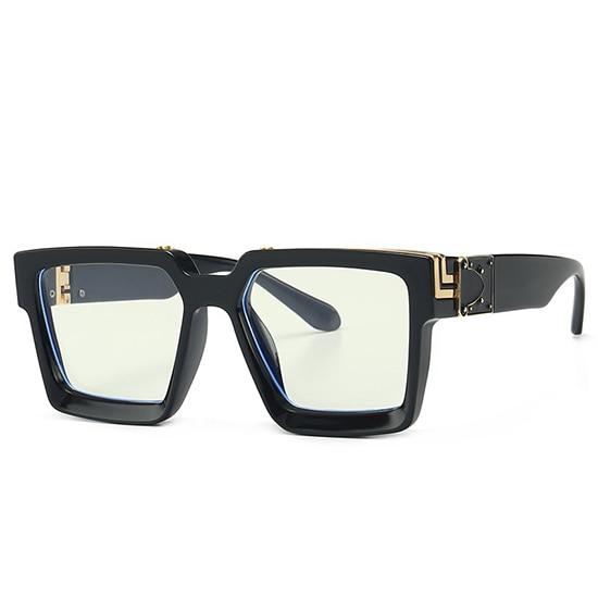 Retro Square Sunglasses Women Ins Popular Sun Glasses Men UV400 10
