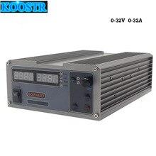 CPS 3232 ประสิทธิภาพสูงขนาดกะทัดรัดปรับได้ DC 32V 32A OVP/OCP/OTP ห้องปฏิบัติการแหล่งจ่ายไฟ EU AU Plug