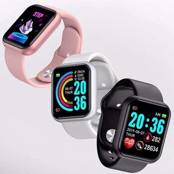 Korean Version Of The Smart Health Bracelet Pedometer Heart Rate Blood Pressure Monitoring Pedometer Sleep Color Screen Bracelet недорого