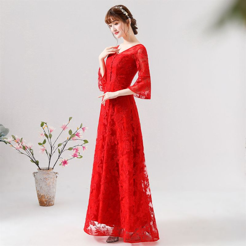 2019 Vestido Cocktail In The Summer Of 2020 New Fat Engagement Feast Bigger Sizes Small Evening Dress Recalls Female Show Thin