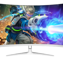 Monitor LED para videojuegos de 32 pulgadas, curvado, 144Hz, Edge-Less, AMD FreeSync DisplayPort DP/HDMI Interface