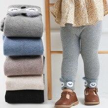 Winter Leggings Girls Camel Fluff 2020 Children Plus Velvet Pants Thicken Warm Long Trousers for Baby