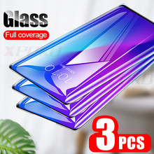 3 pçs capa completa de vidro temperado para xiaomi redmi nota 7 6 5 pro protetor de tela para redmi 7 6 6a k20 pro película de vidro protetor